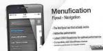Menufication wordpress