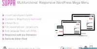 Multi suppa purpose menu mega wordpress