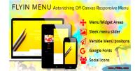 Off wordpress canvas menu flyin menu