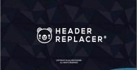 Replacer header