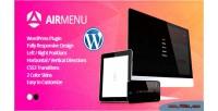 Responsive airmenu fullscreen plugin wordpress navigation