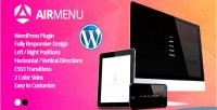 Responsive airmenu fullscreen plugin wordpress navigation