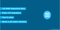 Responsive jm wordpress for menu