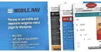 Responsive mobile.nav menu plugin