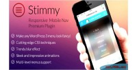 Responsive stimmy mobile wordpress for menu