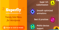 Responsive superfly plugin menu wordpress