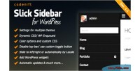 Sidebar slick plugin wordpress responsive