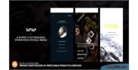 Taptap a super customizable menu mobile wordpress