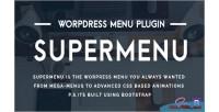 Wordpress supermenu plugin menu mega