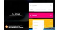 Wordpress tactile mobile menu