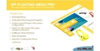 Wp floating menu pro one page navigator sticky wordpress for menu