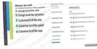 Ninja wp customizer bar scroll