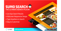 Ajax site search sumo plugin wp search ajax