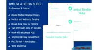 And history slider vertical & horizontal plugin timeline responsive and