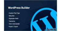 Builder custom posts taxonomy meta term metabox builder