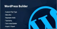 Builder custom posts taxonomy meta term metabox builder