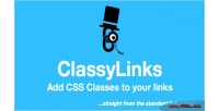 Classylinks add css classes links your to