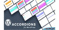 Content wordpress accordions builder plugin layout with