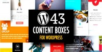 Content wordpress boxes builder plugin layout with