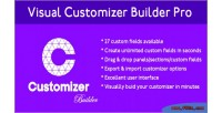 Customizer visual builder pro