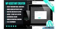 Flat wp creator assistant visual