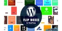 Flip wordpress boxes builder plugin layout with