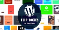 Flip wordpress boxes builder plugin layout with