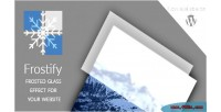 Frostify wp frosted glass effect for website wordpress your