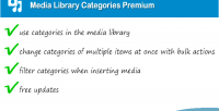 Library media categories premium