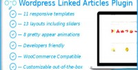 Linked wordpress articles plugin