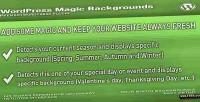 Magic wordpress backgrounds