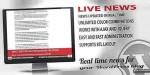 News live real ticker news time