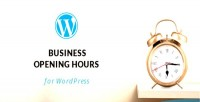 Opening wordpress hours builder plugin layout with