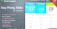 Pricing easy plugin wordpress tables