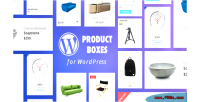Product wordpress boxes builder plugin layout with