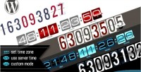 Responsive wordpress countdown