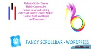 Scrollbar fancy wordpress