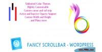 Scrollbar fancy wordpress