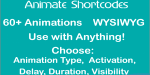 Shortcode animate