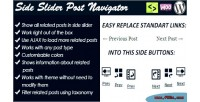 Slider side post navigator