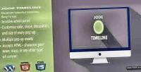 Timeline jode timeline content flexible