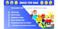 Top emoji bar