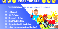 Top emoji bar