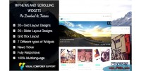 Wp news & scrolling widgets pro plugin news wordpress