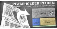 Placeholder wordpress plugin