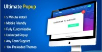 Popup ultimate wordpress