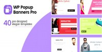 Popup wp banners pro popup ultimate wordpress for plugin