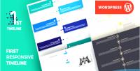 Pro timeline first plugin responsive timeline wordpress