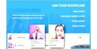 Responsive iam team plugin wordpress showcase