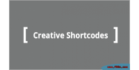 Shortcodes creative for wordpress